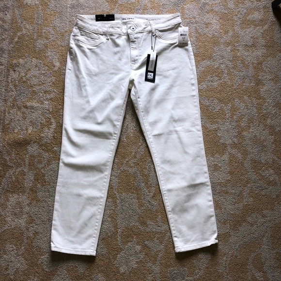 DL1961 Pants - DL 1961 Florence White Jeans